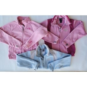 North Face Bundle Fleece Jackets